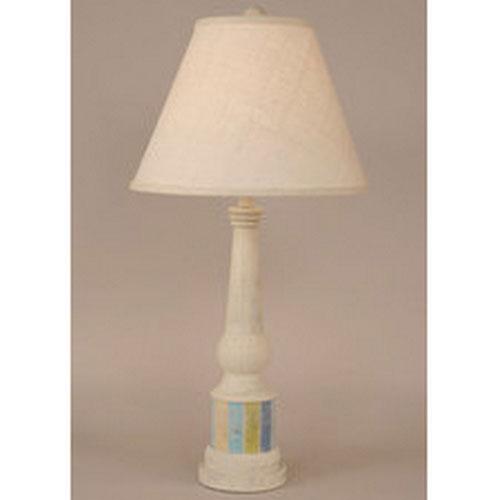 Coast Lamp Manufacturing Coastal Living Cottage Stripe One-Light Table Lamp