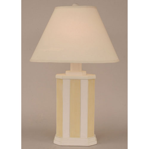 Coast Lamp Manufacturing Coastal Living Weathered Nude and Gold One-Light Table Lamp