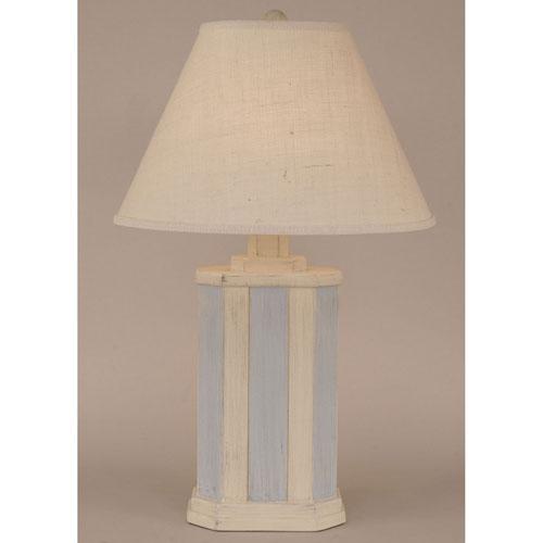 Coastal Living Cottage Seaside Stripe One-Light Table Lamp