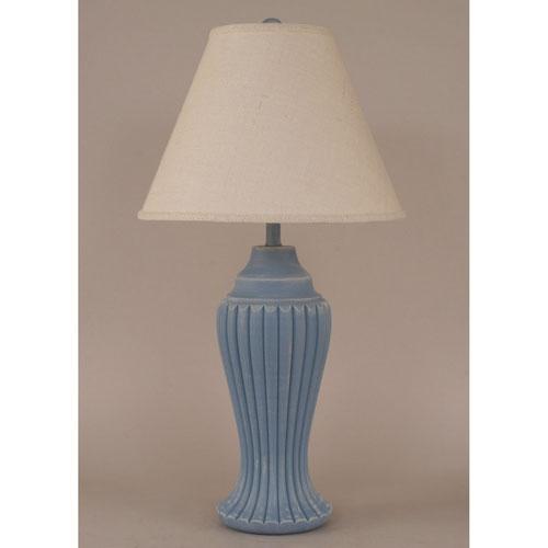 Coast Lamp Manufacturing Coastal Living Weathered Wedgewood Blue One-Light Table Lamp