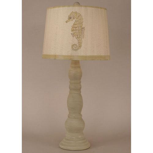 Coastal Living Cottage Shoreline Tan One-Light Table Lamp