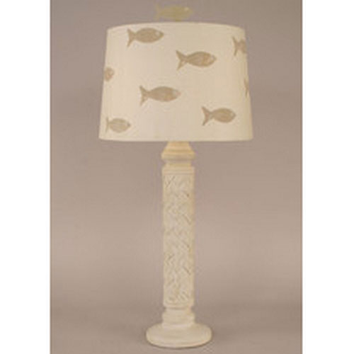 Coast Lamp Manufacturing Coastal Living Two-Toned Nude One-Light Table Lamp