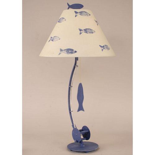 Coast Lamp Manufacturing Coastal Living Weathered Morning Jewel One-Light Table Lamp