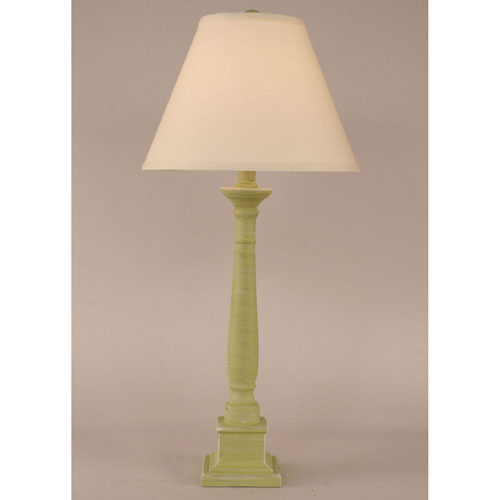 Coast Lamp Manufacturing Coastal Living Cottage Lime One-Light Table Lamp