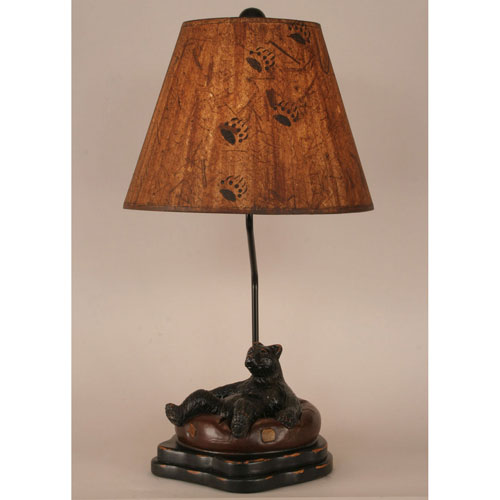 Rustic Living Riverwoods One-Light Table Lamp
