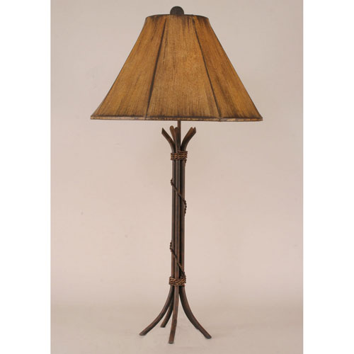 Coast Lamp Manufacturing Rustic Living Rust One Light Table