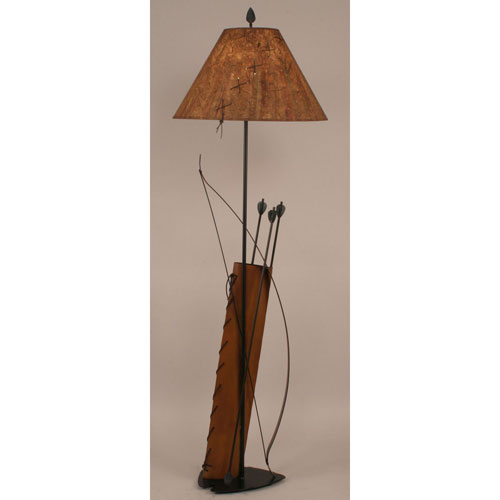 Rustic Living Riverwoods One-Light Floor Lamp