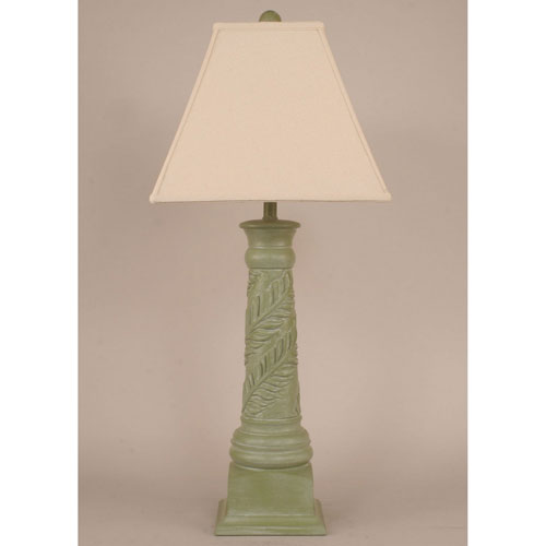 Coast Lamp Manufacturing Coastal Living Antique Olive One-Light Table Lamp