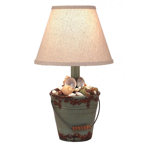 Coast Lamp Manufacturing Coastal Living Aged Atlantic Grey One-Light Table Lamp