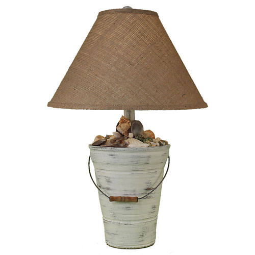 Coast Lamp Manufacturing Coastal Living Shabby Light Nude One-Light Table Lamp