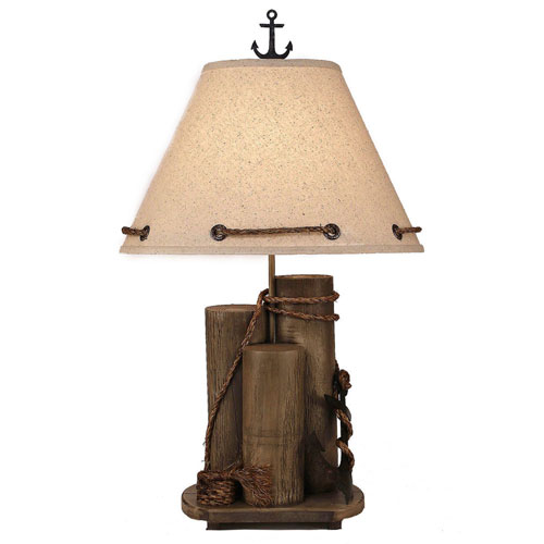 Coastal Living Antique Grey One-Light Table Lamp