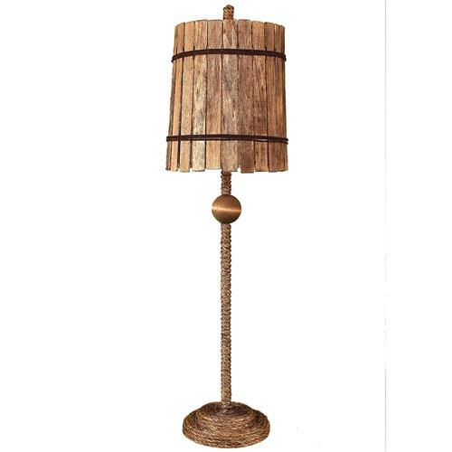 Coastal Living Manilla One-Light Buffet Lamp