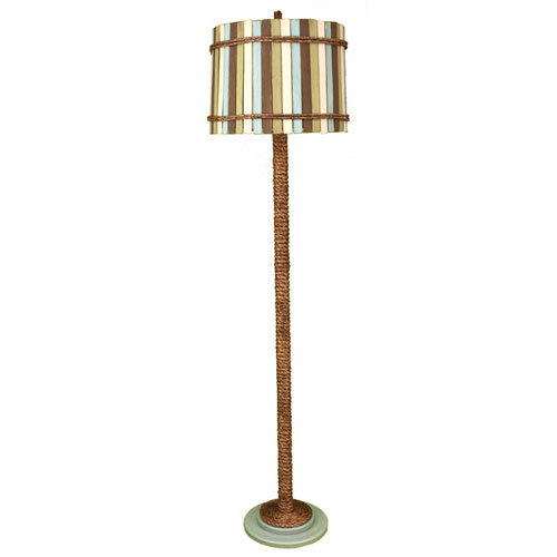 Coastal Living Antique Atlantic Grey One-Light Floor Lamp