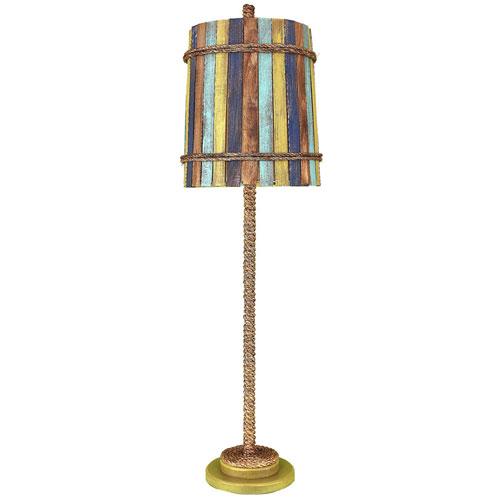 Coast Lamp Manufacturing Coastal Living Lime Glaze One-Light Buffet Lamp