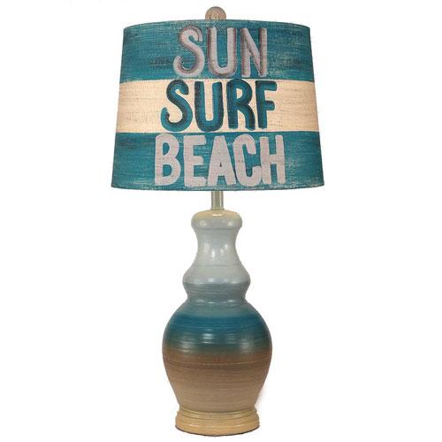 Coast Lamp Manufacturing Coastal Living Beach Wash One-Light Table Lamp