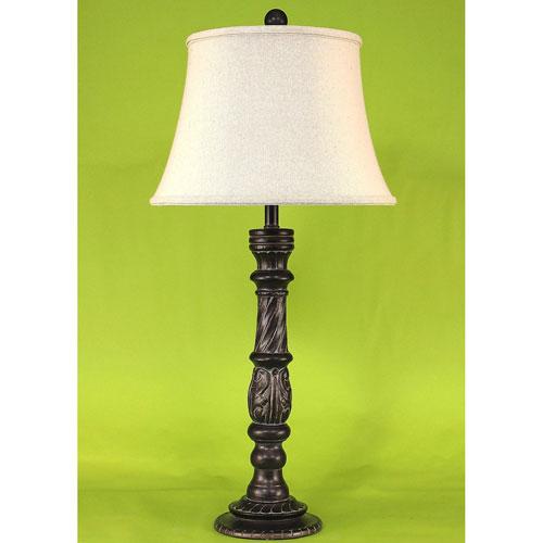 Coast Lamp Manufacturing Casual Living Verdi Gold One-Light Table Lamp