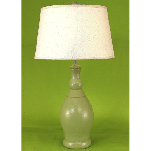 Coast Lamp Manufacturing Casual Living High Gloss Seagrass One Light Table  Lamp