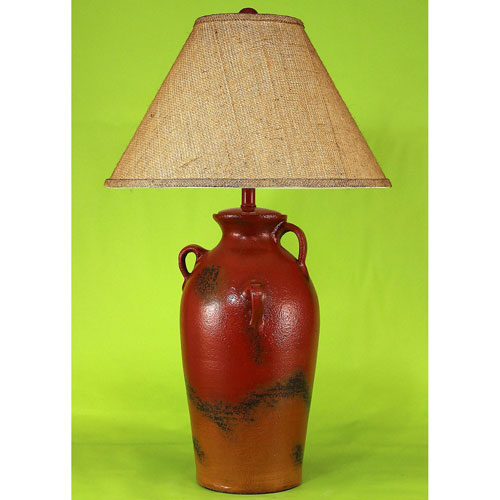 Casual Living Firebrick One-Light Table Lamp