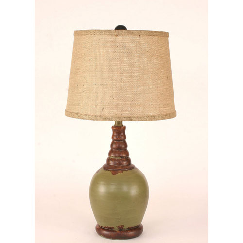 Superieur Coast Lamp Manufacturing Casual Living Aged Seagrass One Light Table Lamp