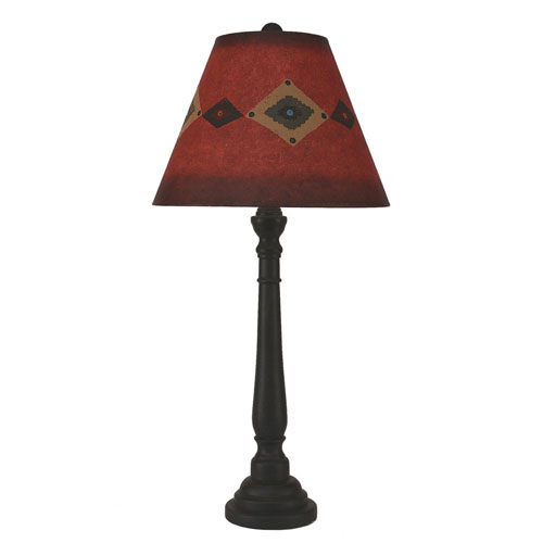 Coast Lamp Manufacturing Rustic Living Kodiak One-Light Buffet Lamp