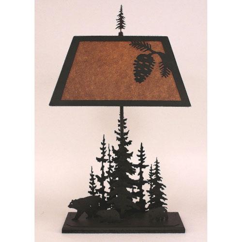 Coast Lamp Manufacturing Rustic Living Kodiak One-Light Table Lamp