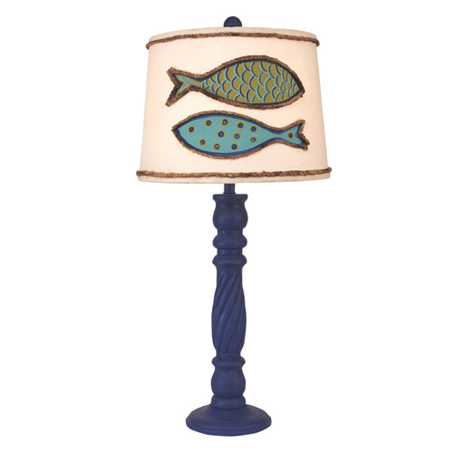 nautical table lamps nautical style coastal living morning jewel streak onelight table lamp tropical lamps nautical theme bellacor