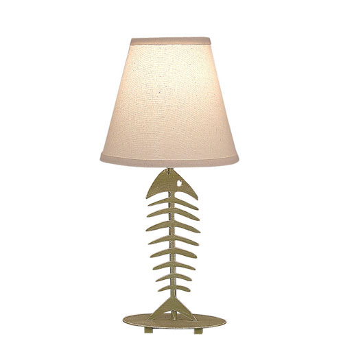Coastal Living Weathered Lime One-Light Table Lamp