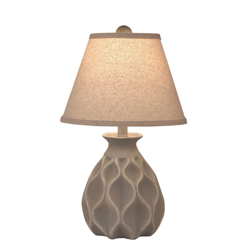 Coastal Living Weathered Pale Grey One-Light Table Lamp