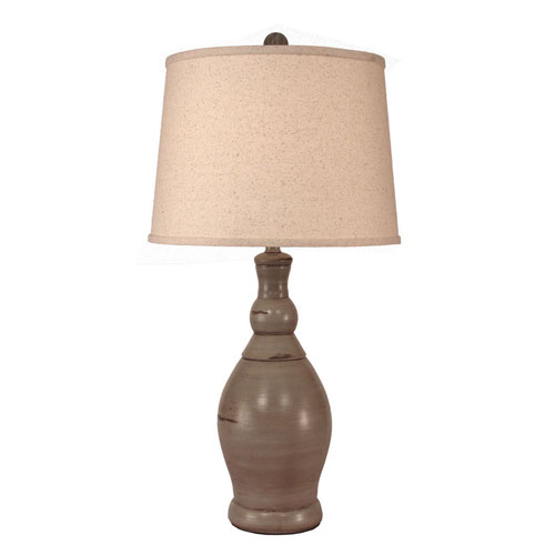Shell table lamp bellacor coast lamp manufacturing coastal living oyster shell one light table lamp aloadofball Images