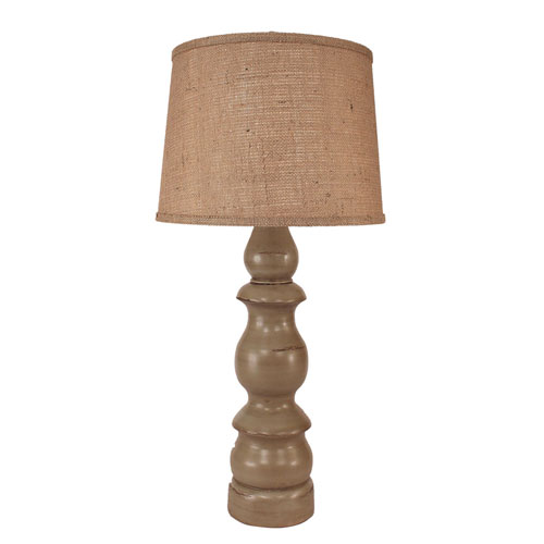 Coastal Living Oyster Shell One-Light Table Lamp