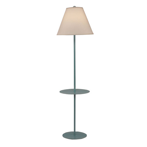 Coastal Living Weathered Turquoise Sea One-Light Floor Lamp