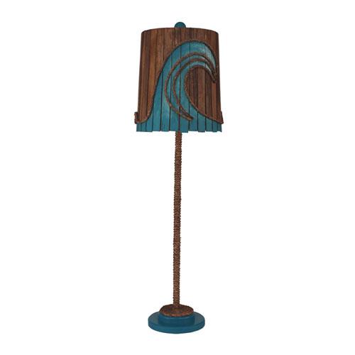 Coastal Living Solid Jade One-Light Buffet Lamp