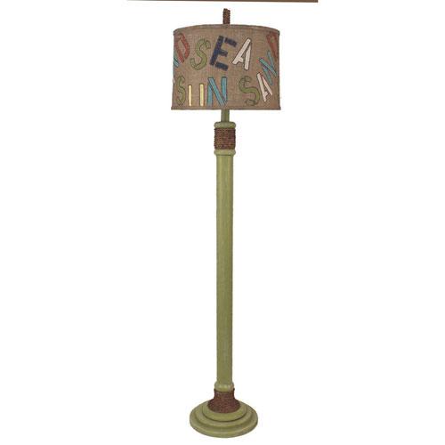 Coastal Living Weathered Lime One-Light Floor Lamp
