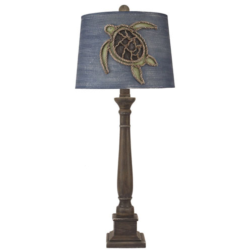 Coastal Living Greywood One-Light Table Lamp