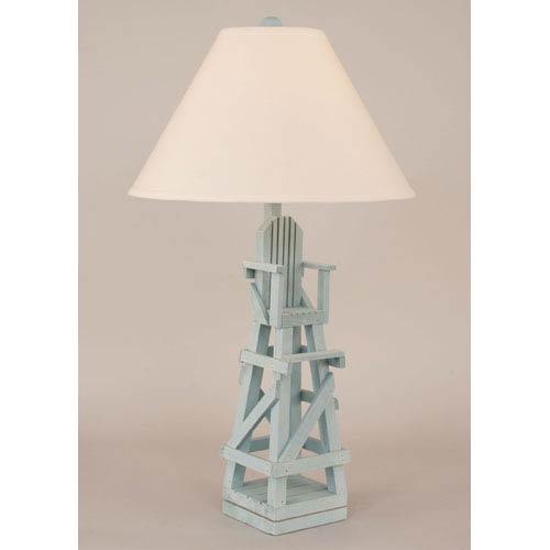 Coastal Living Weathered Atlantic Grey One-Light Table Lamp