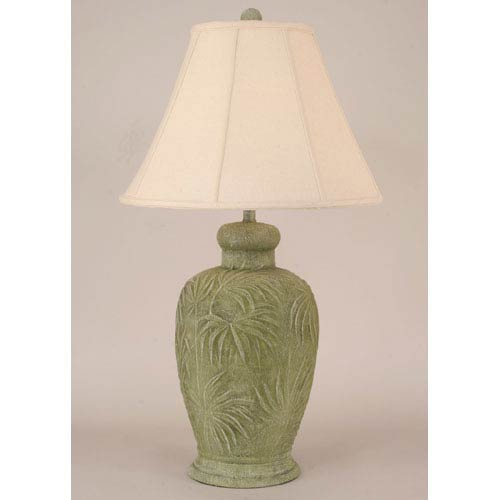 Coastal Living Two-Toned Sage One-Light Table Lamp