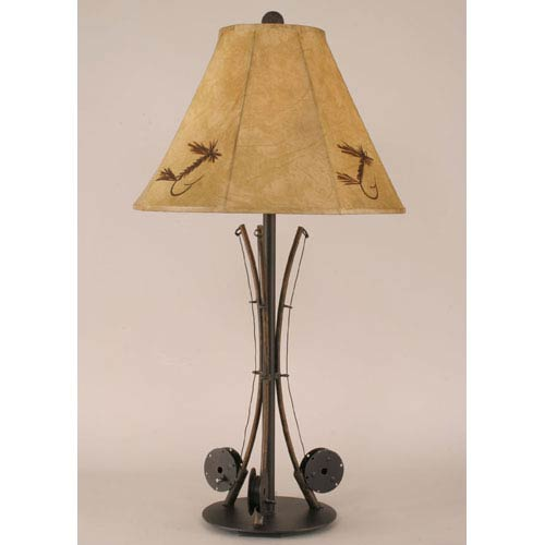 Coast Lamp Manufacturing Rustic Living Rustic One-Light Table Lamp
