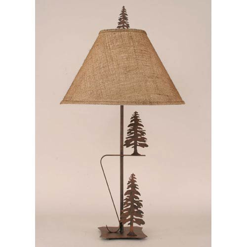 Coast Lamp Manufacturing Rustic Living Rust One-Light Table Lamp