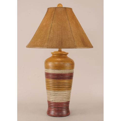 Coast Lamp Manufacturing Rustic Living Glaze One-Light Table Lamp