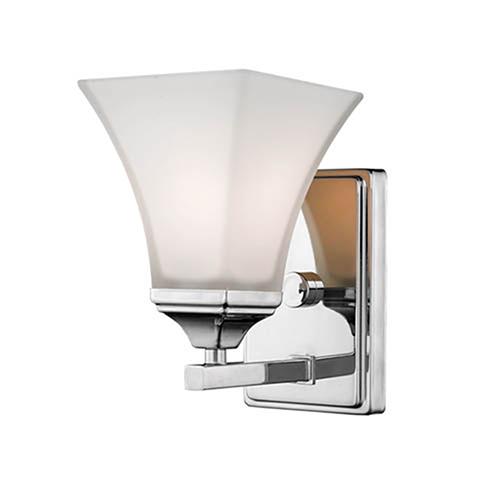 Chrome Six-Inch One-Light Vanity