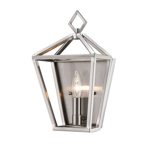 2571-BN Corona Brushed Nickel One-Light Wall Sconce