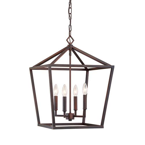 Bronze Oil Rubbed Pendant Lighting Bellacor