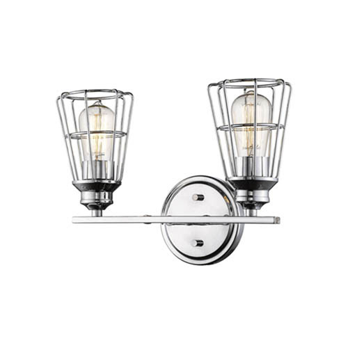 Millennium Lighting Chrome Two-Light Vanity