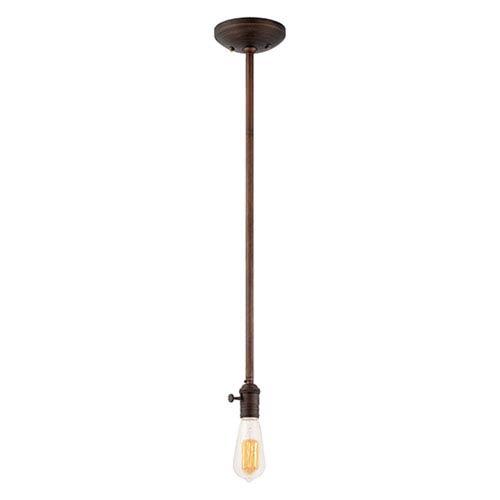 Millennium Lighting Neo-Industrial Rubbed Bronze 40 x 4.5-Inch One Light Mini Pendant