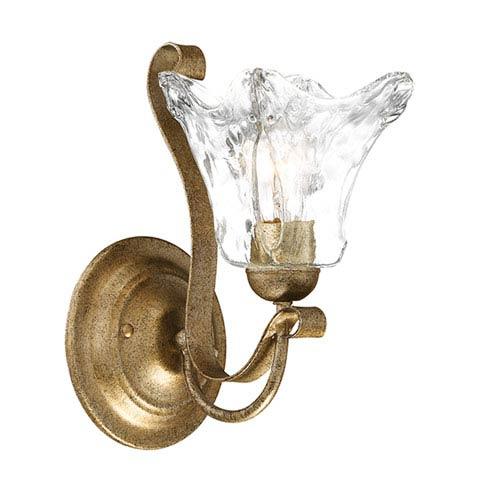 Chatsworth Vintage Gold One-Light Sconce