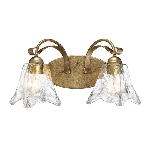 Chatsworth Vintage Gold Two-Light Vanity