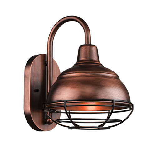 Millennium Lighting R Series Natural Copper One-Light Outdoor Wall Bracket