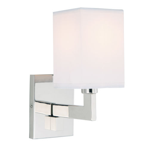 Allston Polished Nickel One-Light Small Swing Arm Wall Sconce