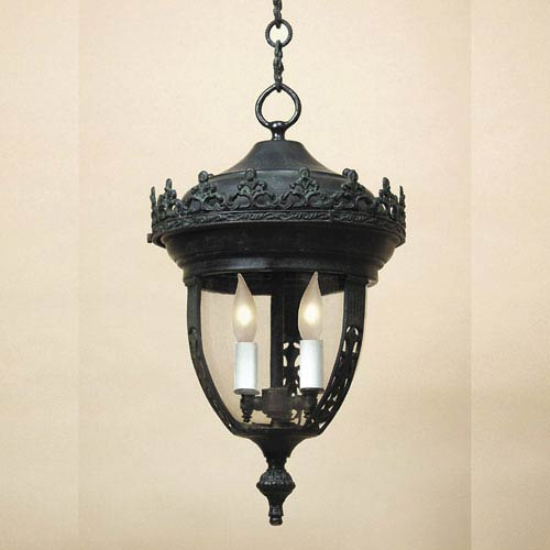 Large Verde Three-Light Outdoor Pendant