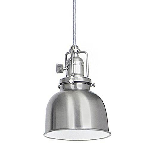Union Square Pewter Five-Inch Mini Pendant with Metal Shade